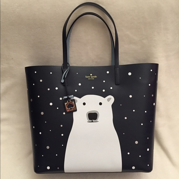 51fd07cfecfd kate spade Handbags - Kate Spade Polar Bear Tote